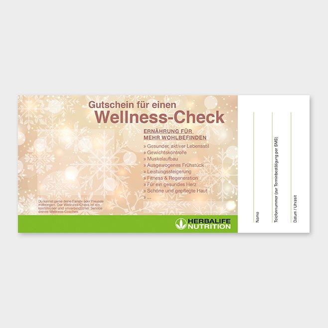 Wellness-Check Gutschein Herbalife Motiv 10