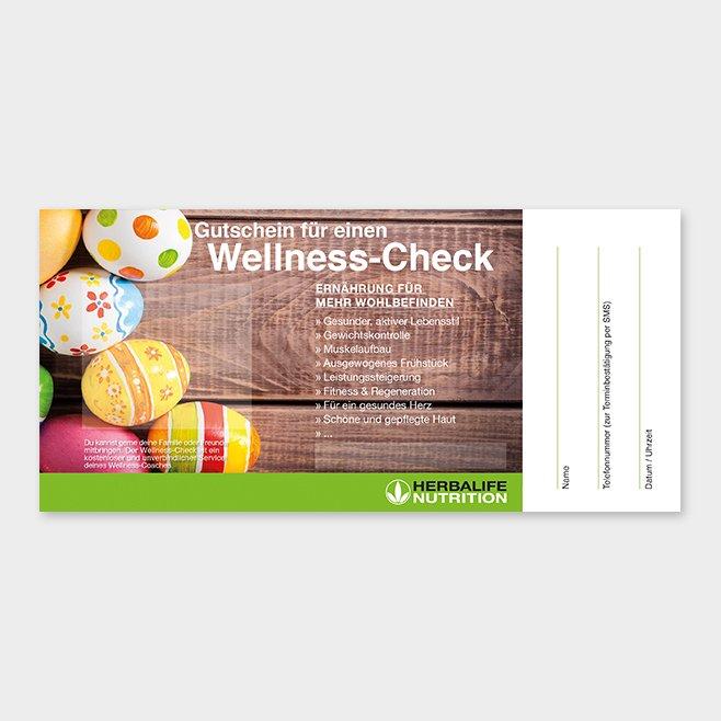 Wellness-Check Gutschein Herbalife Motiv 6
