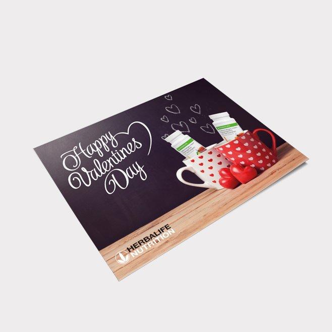 Postkarte Valentinstag Motiv 2