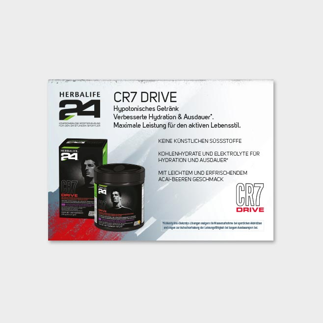 CR7 DRIVE Launch 2 Postkarte
