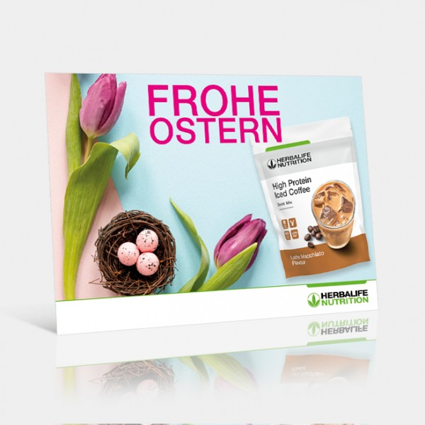 Ostern 2020 HighProteinIcedCoffee