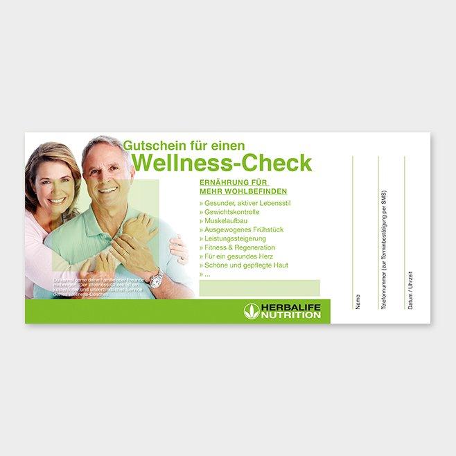 Wellness-Check Gutschein Herbalife Motiv 2