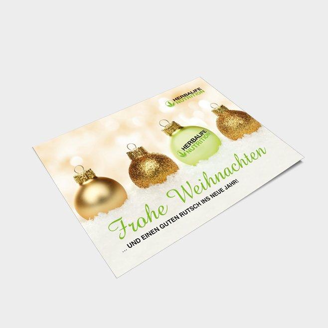 Weihnachtskarten DIN A6
