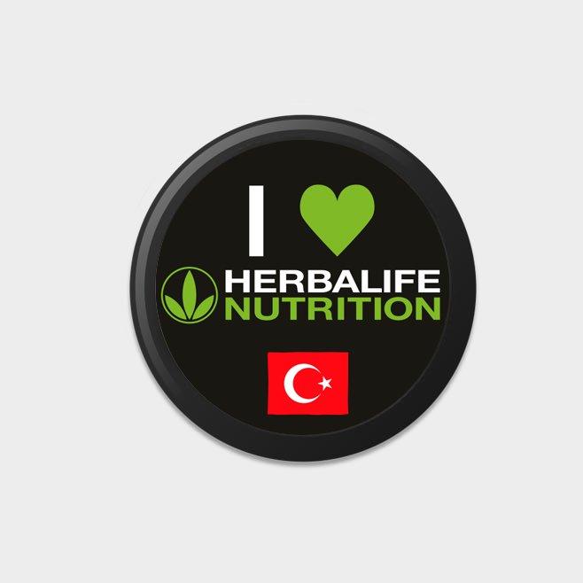 Herbalife Buttons (10 Stück) TÜRKEI