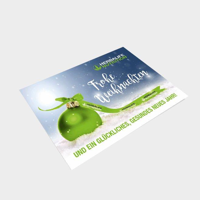 Weihnachtskarten DIN A6 50 Stück - Version 2